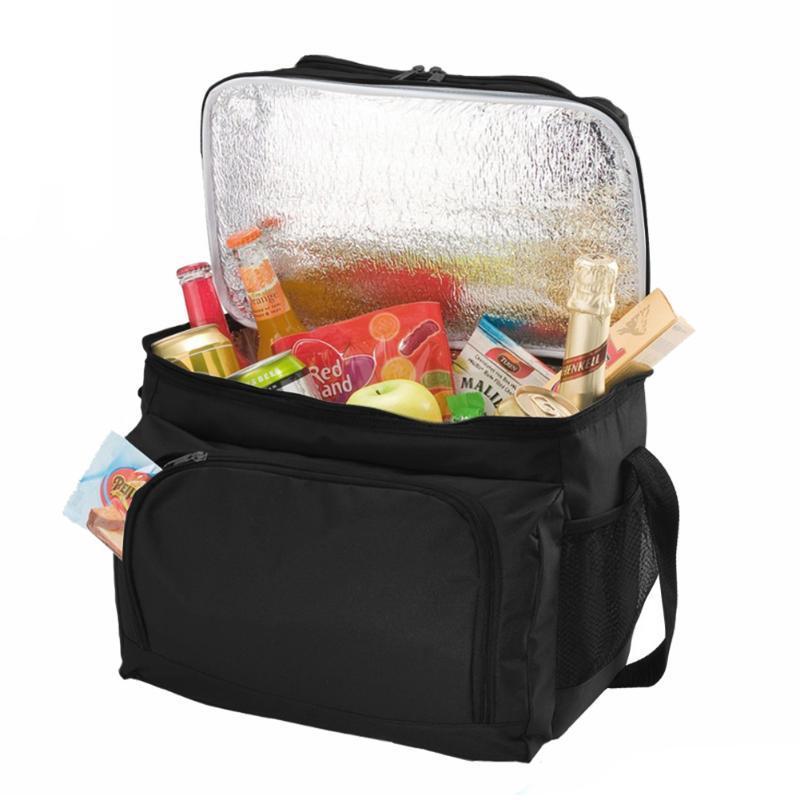 AU كبير معزول الغداء حقيبة للمرأة الرجال الحرارية تبريد نزهة صندوق تخزين
