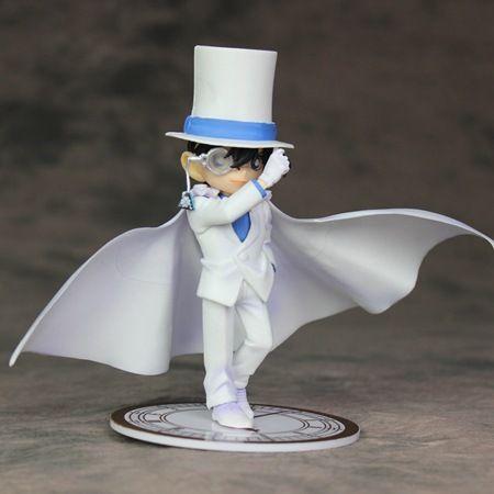 14cm 형사 형사 코난 형 휴무 Kudou Shinichi 쿠미 지미 (Jimmy Kudo) 액션 피규어 장난감 인형 크리스마스 선물 상자 포함