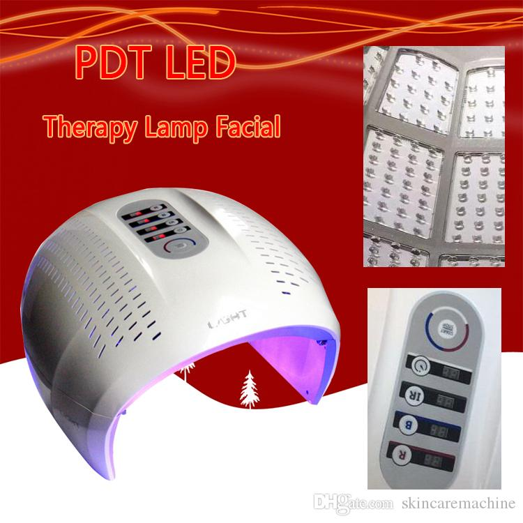 Маска завод Цена LED лица PDT свет 4 Light Skin Therapy красоты машина для лица Омоложение кожи Салон красоты EquipmentFactory Цена