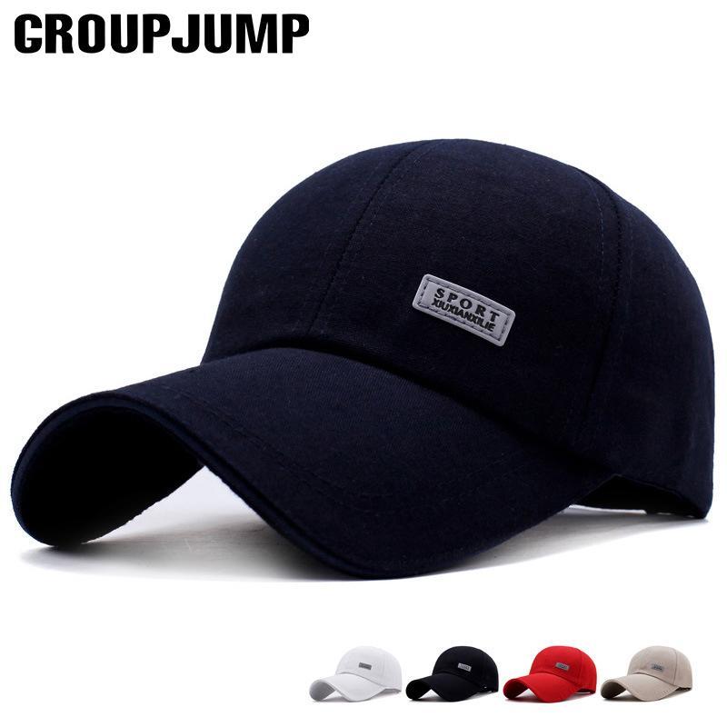 Mode Simple Conception Snapback Casquettes Pour Hommes En plein air casquette de Baseball Sport Style D'Été Automne Casquettes Femmes Papa Chapeau qualité gorras