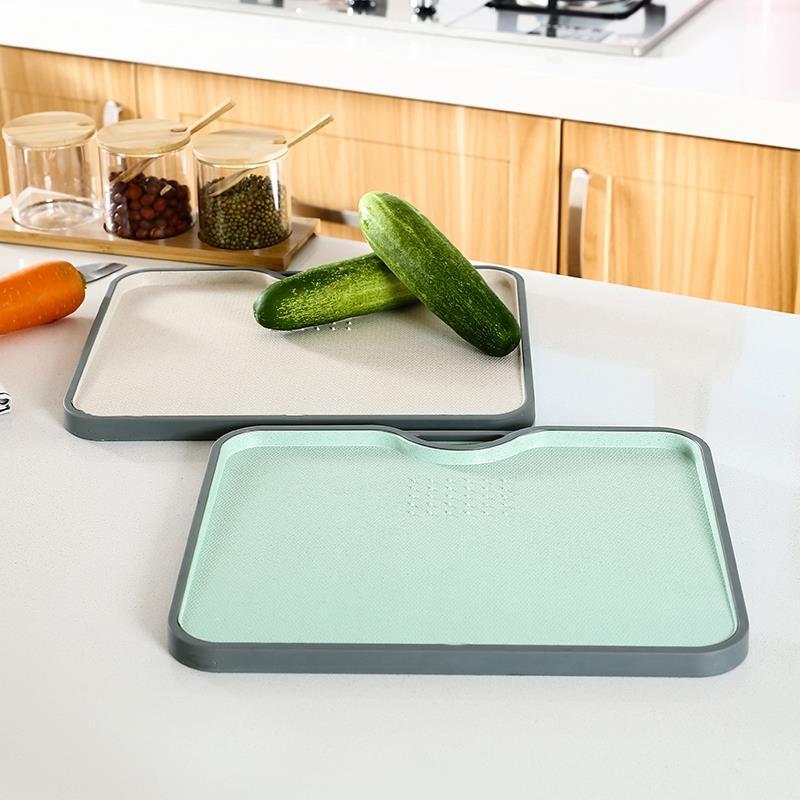 Eco paglia di grano Tagliere Gourmet Tagliere con la rettifica Aglio Strumento di cottura della cucina Accessori Gadgets