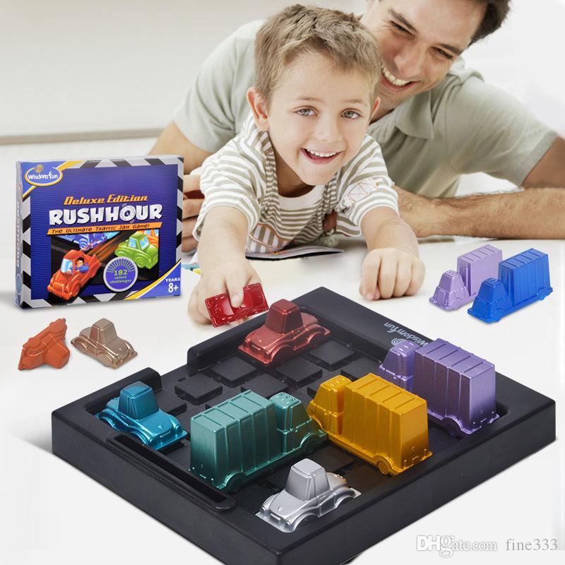 وقت الذروة Rushhour المرور وزحمة ساعة لعب الأطفال منطق التفكير اللعبة إزالة لغز لعبة لعبة لوحة للأطفال