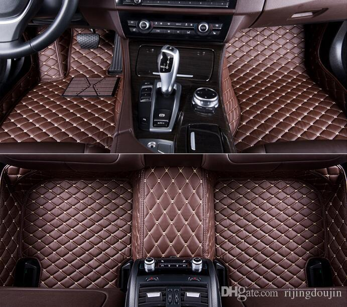 For Fit Mercedes Benz C300 2008-2017 All-Weather Waterproof Front Rear Auto Car Floor Mats Waterproof Mat