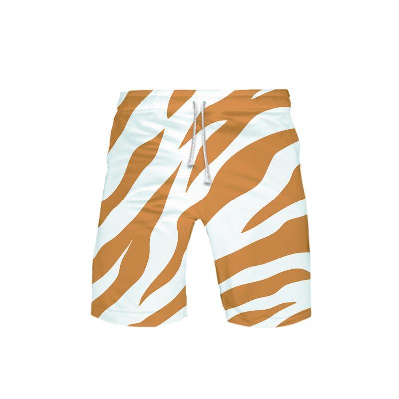 Animal Texture 3D Printed Beach Shorts Men Fashion Streetwear Shorts 2020 New Arrival Hot Sale Casual Summer Wear