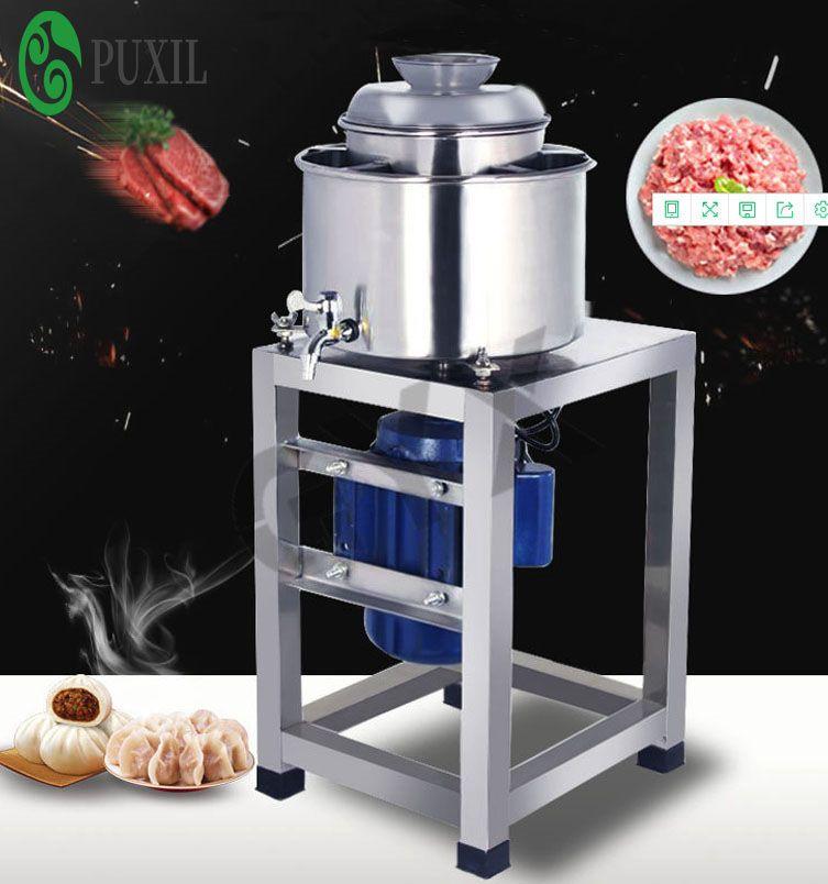 boulettes de viande commerciale efficace batteur poisson et hachoir électrique en acier inoxydable machine de remplissage de fruits
