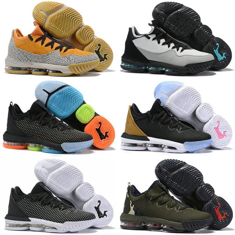 Novas Mais recente Lebron 16 Mens Crianças tênis de basquete 16 Moda Sports Sneakers alta Qaulitys confortáveis Low Trainers Cut Shoes