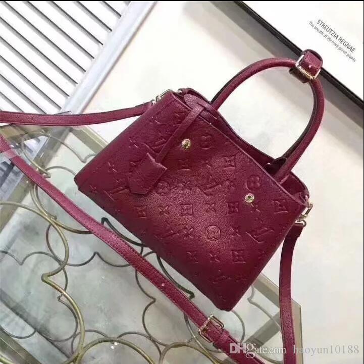 2020 borse del progettista donne di modo Borse borse a mano corsa di alta qualità vera pelle borse della borsa a tracolla Tote femminili Borse con tag 41
