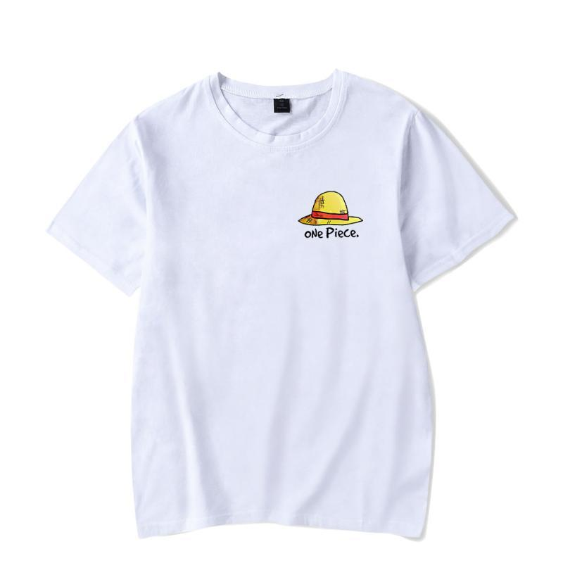 Caliente animado de una pieza camiseta de los hombres / mujeres de moda de Hip Hop de Harajuku de alta calidad de manga corta de los hombres de una pieza de tapa de la camiseta