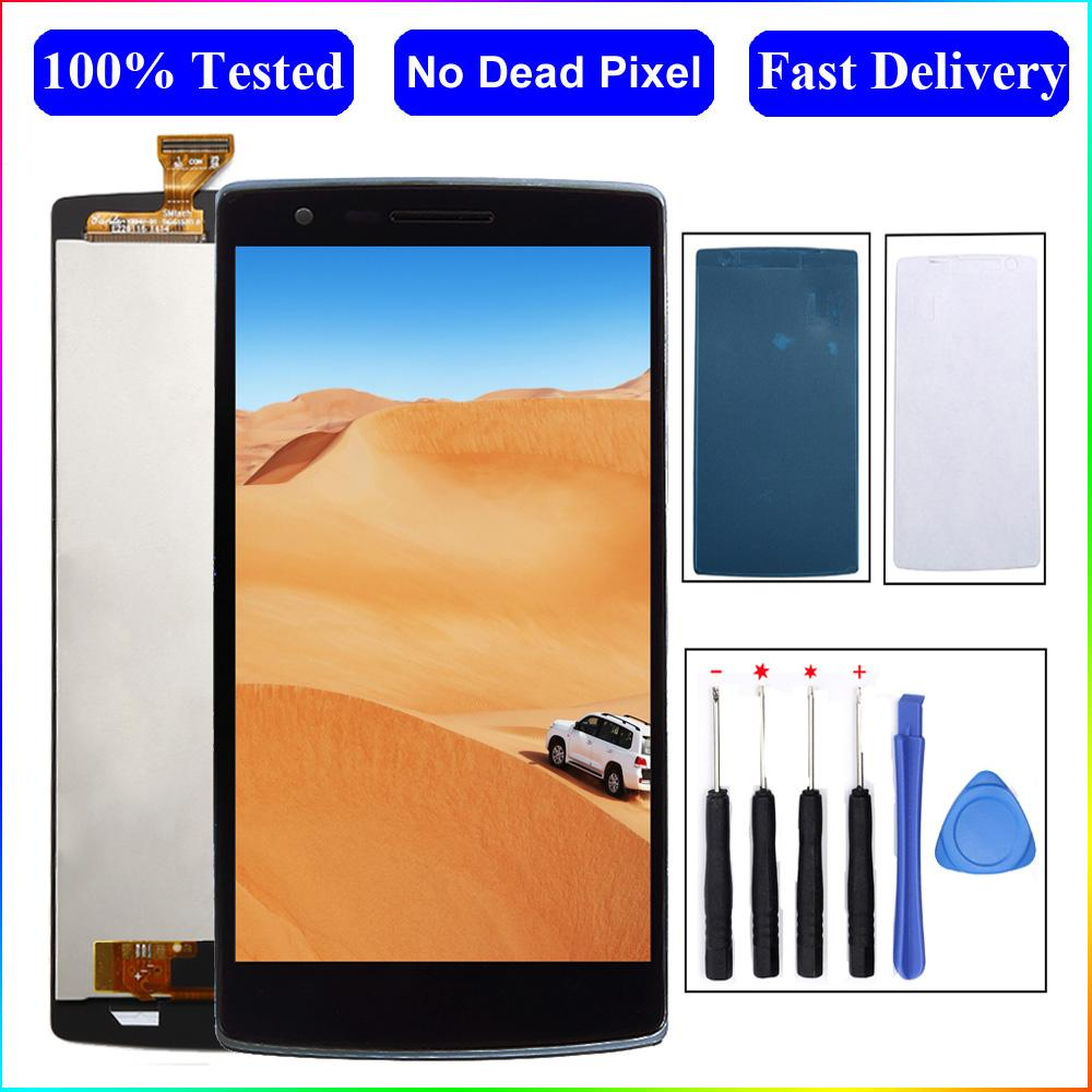 For OnePlus One One Plus 1+ 1 A0001 LCD Display touch Screen Digitizer Assembly Replacement Parts For oneplus 1 screen