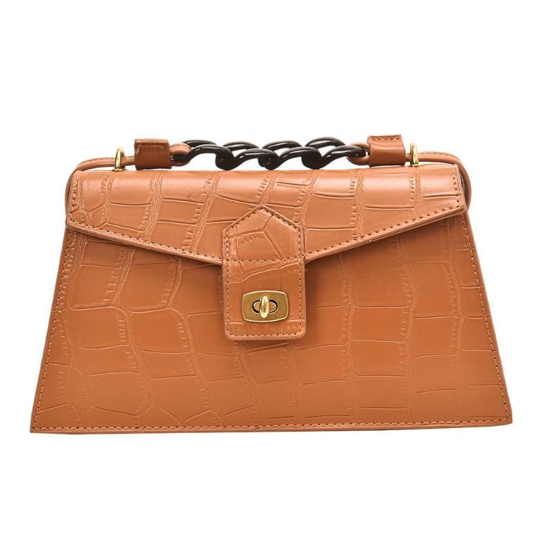 Sacs à main de nouvelle mode multi-fonction Mode Femmes Sacs à bandoulière bourse en cuir couleur solide Messenger élégant sac à main
