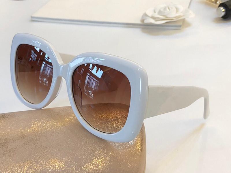 Luxo-Nova moda para as mulheres designer de óculos de sol grande moldura quadrada simples e popular estilo elegante óculos de proteção óculos de proteção de alta qualidade