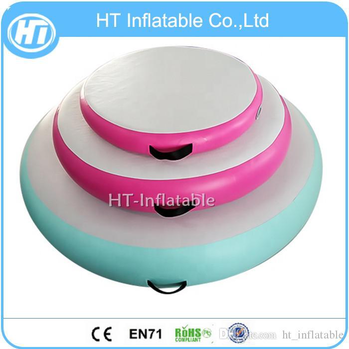 Freies Verschiffen-preiswertere Aufblasbare Luft-Schiene Tumbling Kreis Mat Air Spot-Gymmnastics Ausrüstung Aufblasbare Luft Pit zum Verkauf