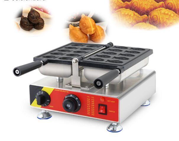Corée du Sud électrique 10pcs antiadhésif commercial 110v 220v mini petit Taiyaki Maker Machine Baker Iron
