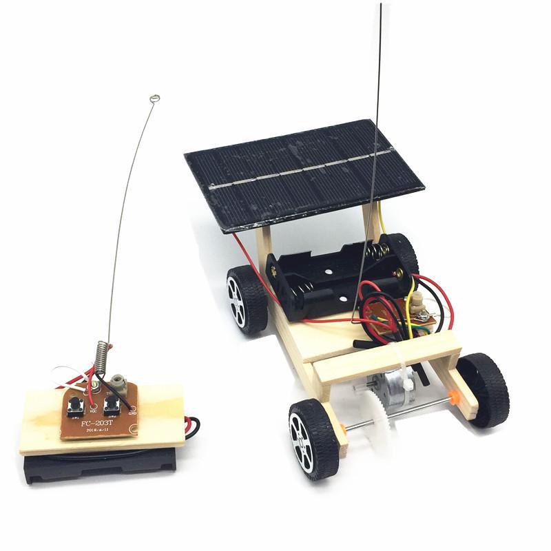 Головоломка Наука Обучающие игрушки Сбор солнечного пульта дистанционного управления Автомобиль Научный эксперимент Творческая модель DIY Технология Малое производство