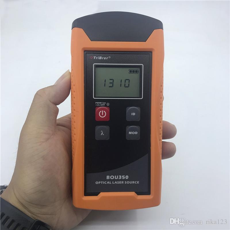 TriBrer BOU350-S3S5 Optische Laserquelle Tribrer Glasfaserwerkzeuge Leistungsmesser Lichtquelle 1310 / 1550nm