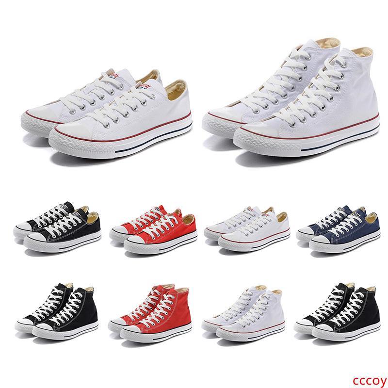 Whosale bandas de color negro 2019 mujeres de los hombres de los zapatos de lona 10s Triple skate número de calzado caminatas casuales zapatillas de deporte 36-44