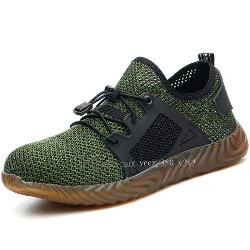Горячая продажа Мода Мужская обувь Mesh дышащие кроссовки Walking Мужчины Обувь Новая Комфортная легкие кроссовки D-200301203