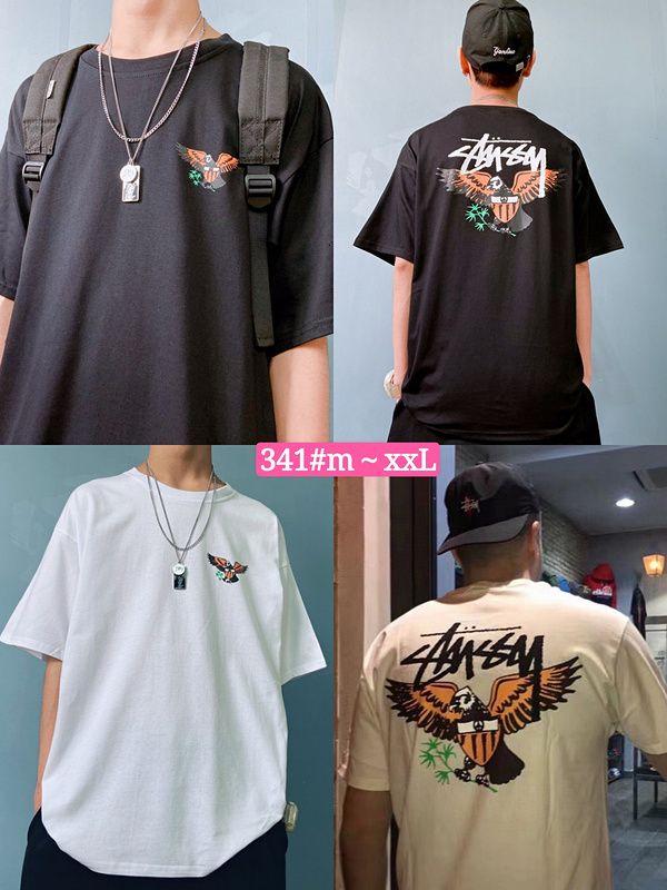 2020 de alta qualidade novos homens de manga curta estilo simples camiseta homens verão moda camisa roupas melhores homens 3QN1 IT64