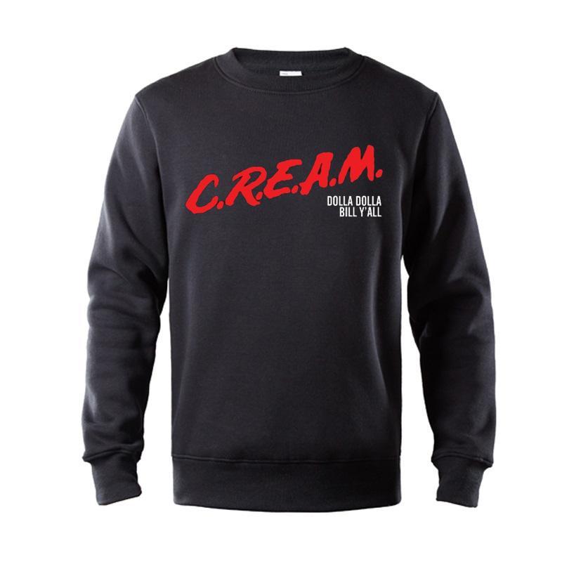 CREMA. DARE Wu-Tang Clan Underground Hip Hop Legends para hombres sudaderas con capucha de algodón de primera calidad Sudadera con capucha estampada