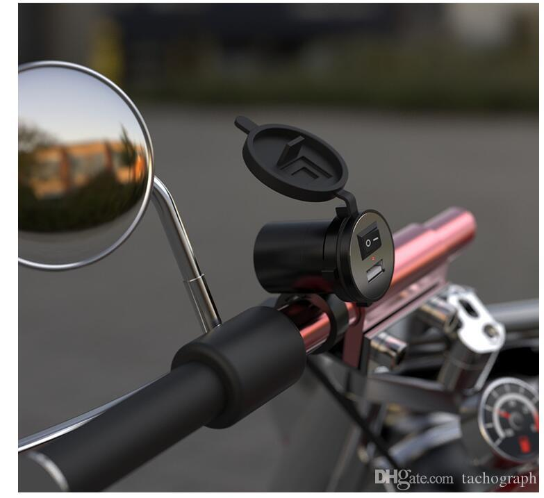 Мотоцикл зарядное устройство для мобильного телефона USB автомобильное зарядное устройство дамы электрический автомобиль 12 В универсальные модели взрыва аксессуары для мотоциклов