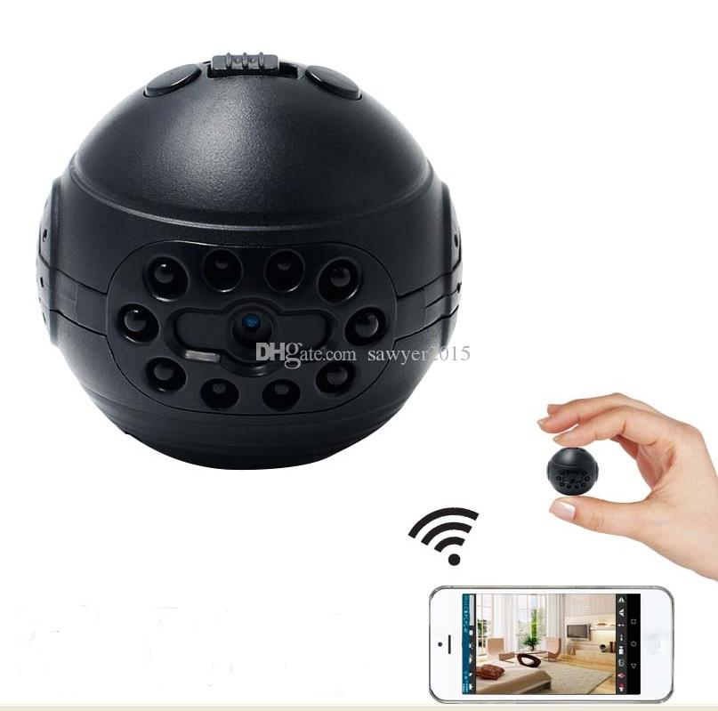 HD Wifi Mini DV camera 1080P IR night vision Micro video camera support motion detection wireless network home security IP camcorder 813