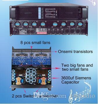 4 Channel classe sistema de som d amplificador Fp20000q Digital Amplifier Big alimentação para Subwoofer, Amplificador de tubo