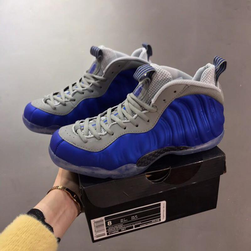 Hot Sale mousse Un cirer des chaussures noir hommes Stuc Penny Hardaway Rose polarisants gris bleu chaussures de basket-ball des hommes Boy Designer baskets de sport
