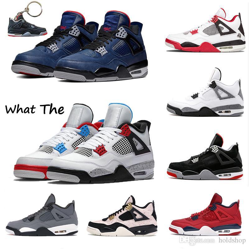 4 sadık 4s Silt Kırmızı sıçramak IV neler Cactus Jack Soğuk Gri Womens Basketbol Ayakkabı Mantar Sports stilist Sneakers winterized