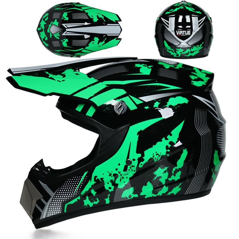 Motorcycle Helmet Off Road Motorbike Full Face Moto Cross Helmet MTB DH Racing Helmet Capacetes DOT Approved