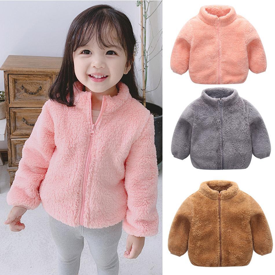 Kids Boys Autumn Winter Warm Sweatshirt Hoodies Outfit Jacket Coat Tops Outwear