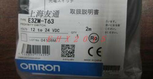 UN NUEVO Omron sensor fotoeléctrico E3ZMT63 E3ZMT63