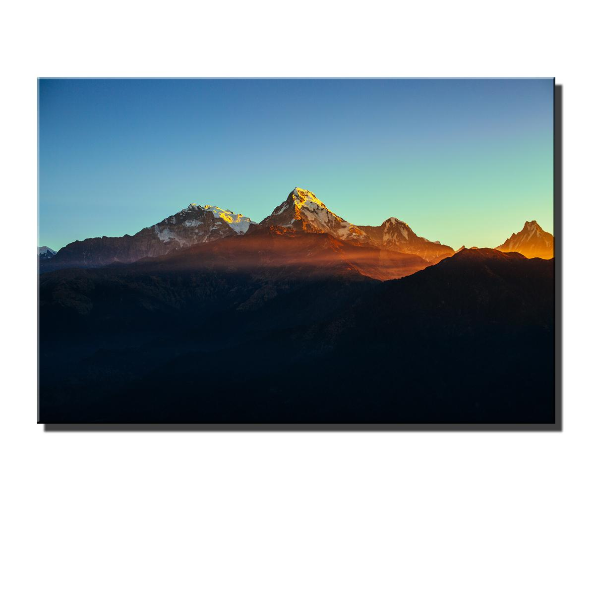 Annapurna, HD Impresión de lienzos Nueva decoración del hogar Arte Pintura / (Sin marco / Enmarcado)