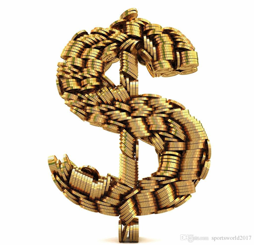 Collegamento veloce per pagare il prezzo supplementare 1 pz=1 USD, scatola di scarpe, SME DHL tassa supplementare di trasporto A Buon Mercato sport merci trasporto di goccia