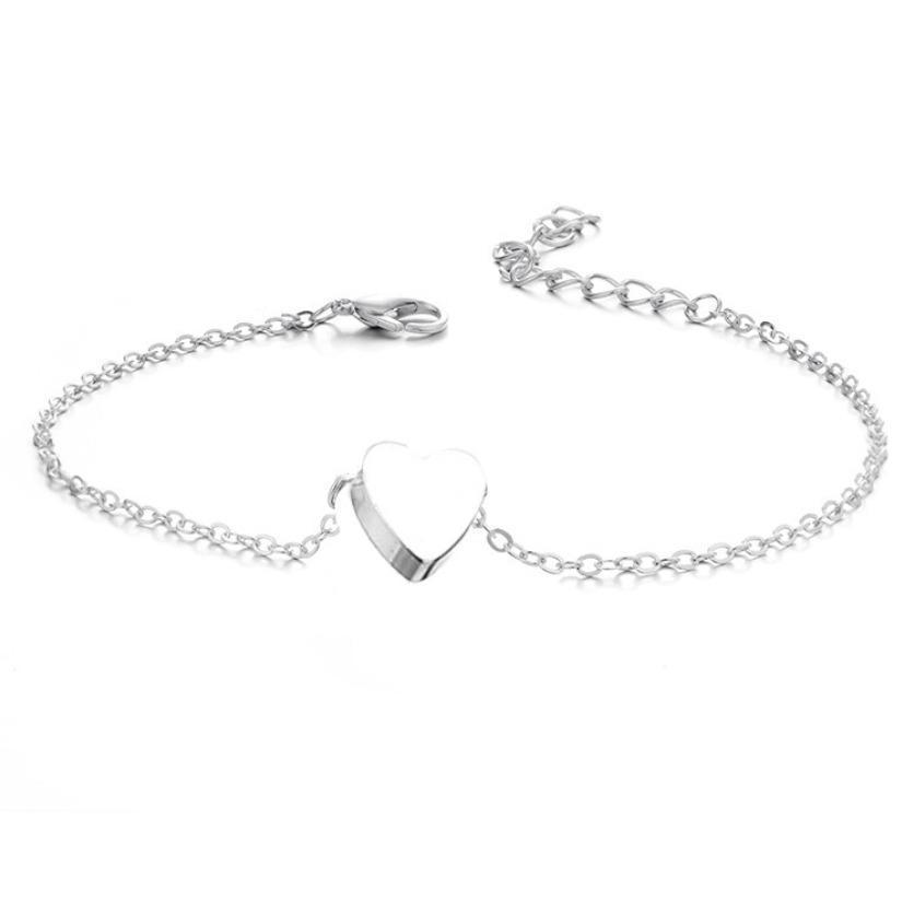 Ножные браслеты ювелирные изделия для женщин Сеть нового способа Bohemia высокого качества позолоченный сплав сердца шариков