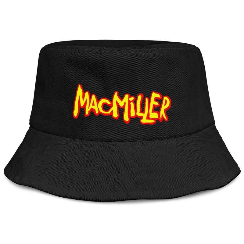 Most Dope MAC MILLER Logo Mens And Women Buckethat Fitted ...