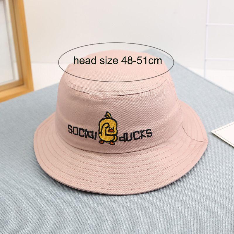 새로운 디자이너 아이 버킷 모자 어린이 아기 여름 모자 동물 핑크 레드 귀여운 밥 모자 힙합 낚시 어부의 모자 축제 선물을 인쇄