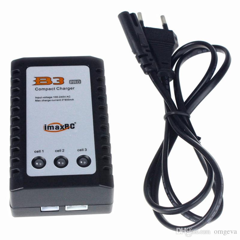 Caricabatterie bilancia compatto iMax B3 imaxRC Pro per Caricabatterie bilanciamento bilanciato di alta qualità Batteria 2S 3S 7.4V 11.1V Litio LiPo RC