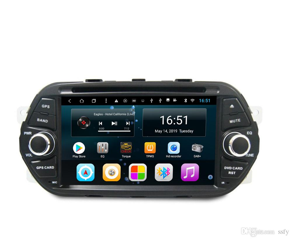 Android car player with precise GPS Resolution HD 1024 * 600 multi-touch screen bluetooth lossless music for Fiat Egea AEGEA 7inch