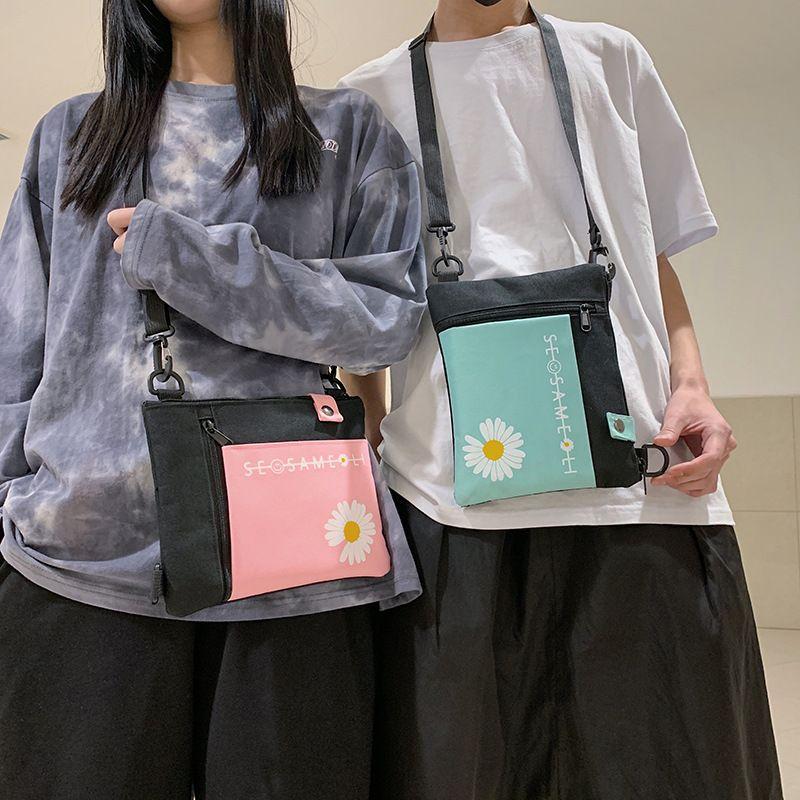 Холщовый мешок Женщина плечо Сумка Ins Студенты японской литературная Минималистские моды колледж Ветер Корейский Hipster
