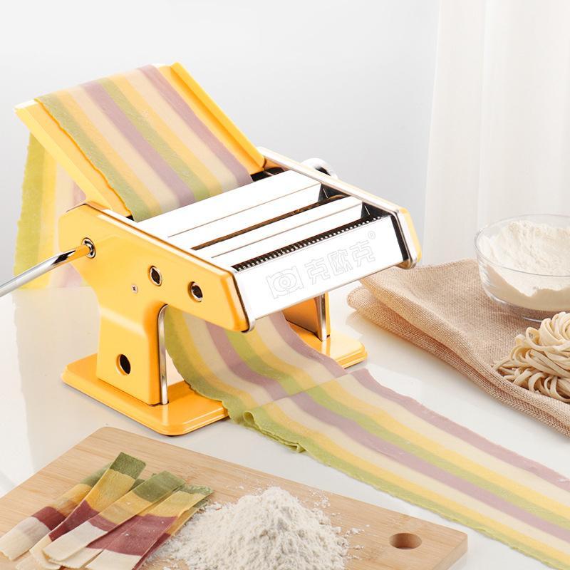 Fabricante de fideos Pasta Pasta 90W motor de la máquina Máquina de prueba del moho lasaña espaguetis tallarines Ravioli de masa hervida máquina del fabricante