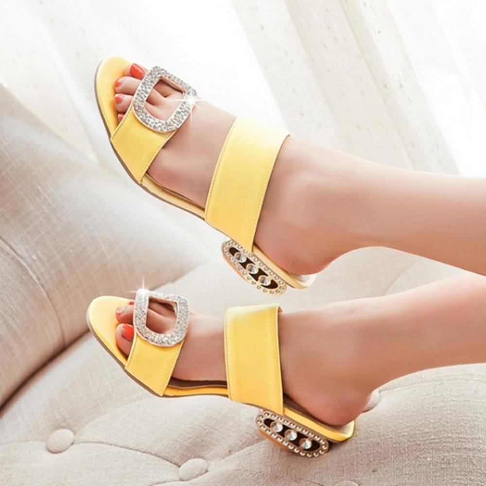 Open Toe Beach Slippers Shoes Women