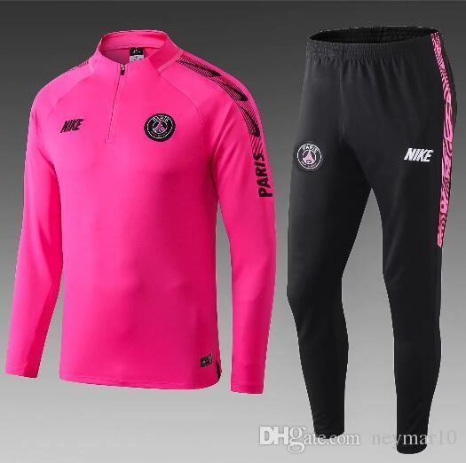 psg training jacket pink