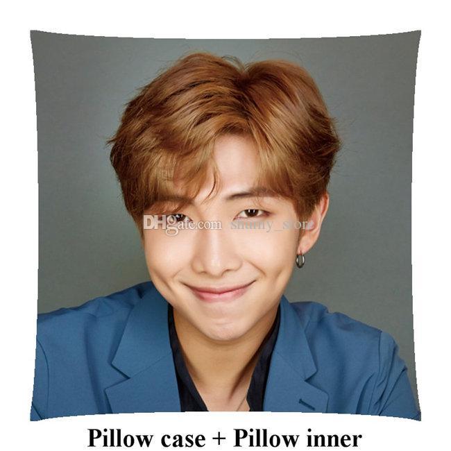Kpop girl Kim Nam Jun rm home Square Pillows Gifts Bedding Supplies
