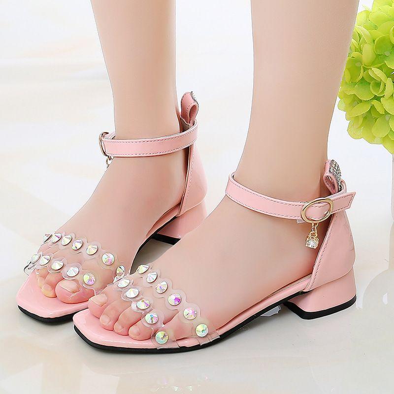 High Heel Summer Shoes Kids