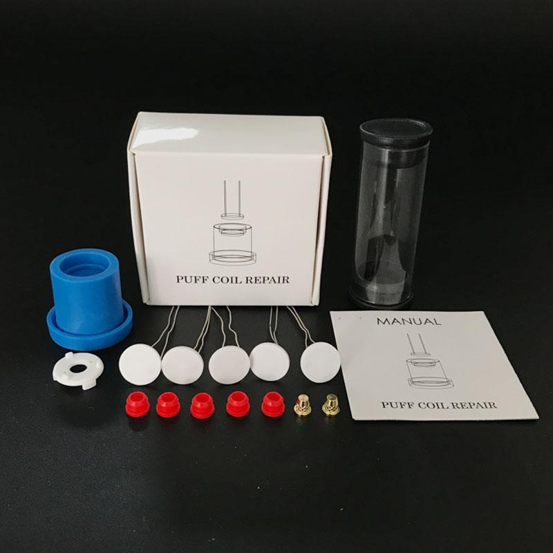 Hottest Kit di riparazione di picco della bobina con base in ceramica 1pc 2pcs Pin 5pcs 1,3 millimetri di spessore serpentina di riscaldamento elemento Occhiello e Aligment Jig