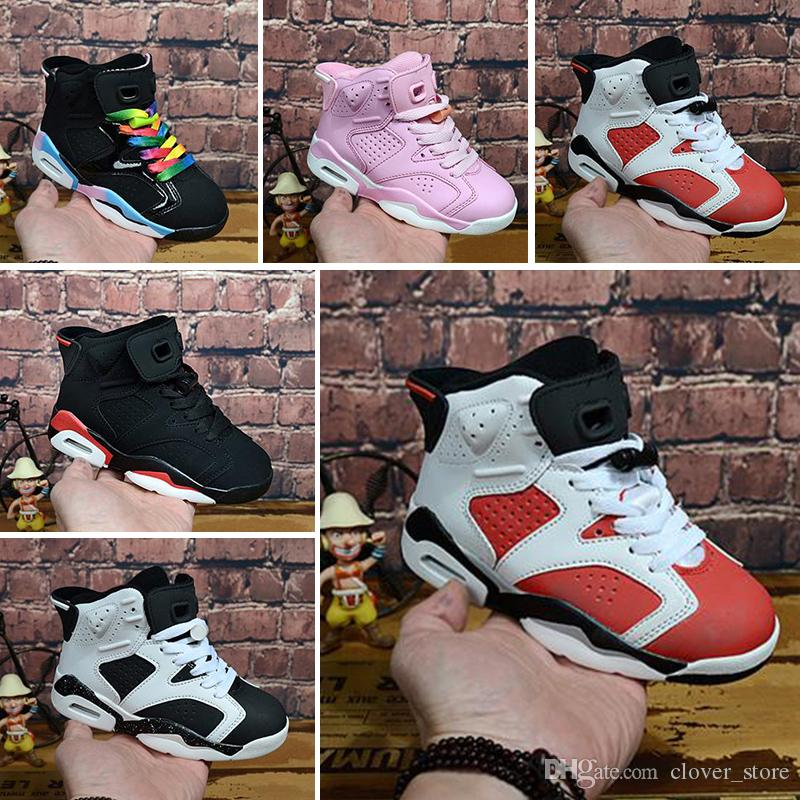 Acquista Nike Air Max Jordan 6 Retro Bambini A Prezzi Imbattibili