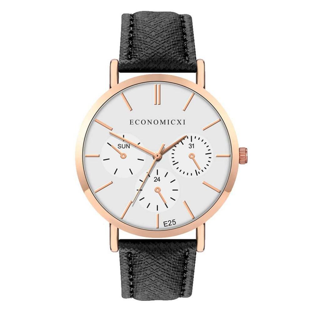 الأزياء الحد الأدنى أسلوب أفضل الأعمال بيع المرأة الساعات حزام جلد أنثى الكوارتز ساعة اليد السيدات اللباس فتاة هدية ساعة