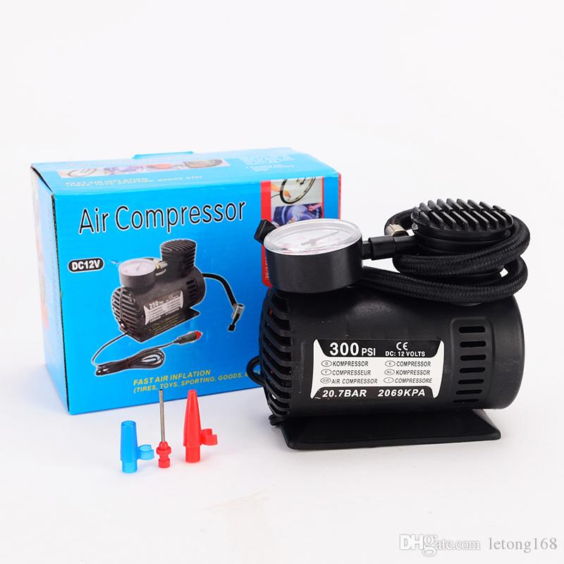 Electric 12V Emergency Car Tire Pump Professional Inflatable Pump