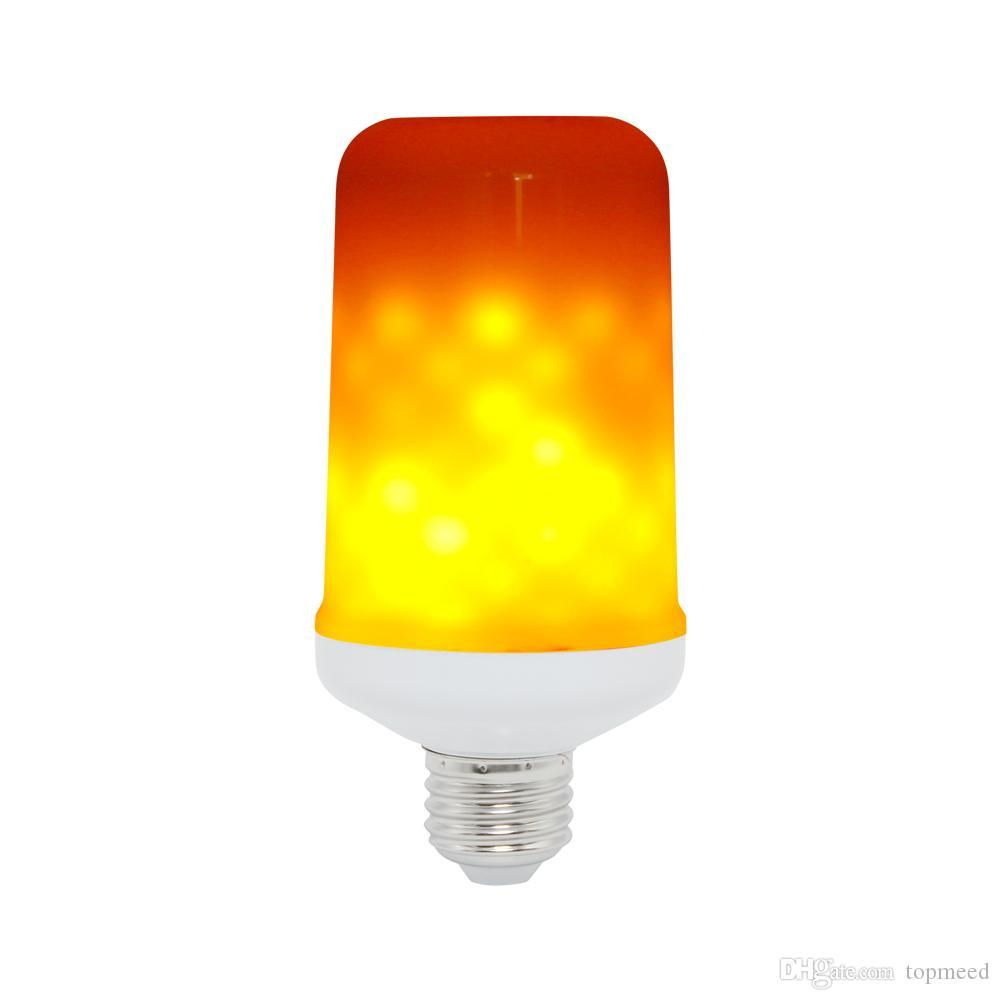 E27 / E14 / E16 LED 동적 화재 불꽃 효과 옥수수 전구 3 모드 AC 85-265V 점멸 에뮬레이션 장식 램프 크리 에이 티브 화재 등 Lamparas