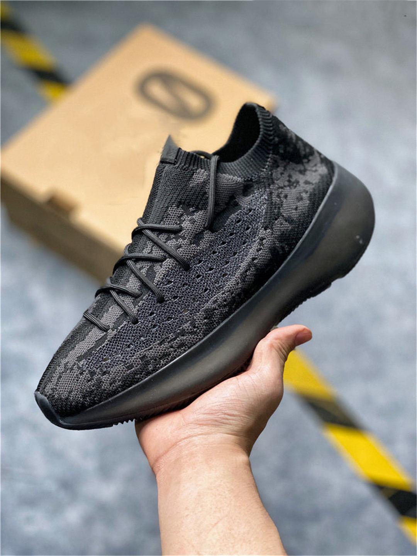 380 Estrangeiro Designer Running Shoes Homens Mulheres branco austero Citrin V3 Sports Sapatilhas Chaussures Com Box 02